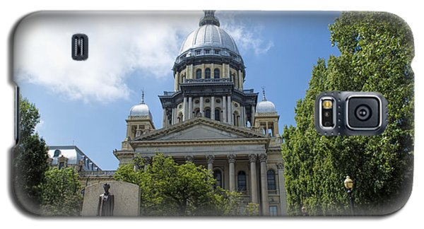 Architecture - Illinois State Capitol  - Luther Fine Art Galaxy S5 Case by Luther Fine Art