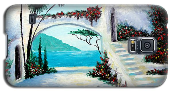 Archway  By The Sea Galaxy S5 Case