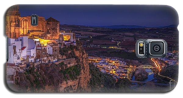 Arcos De La Frontera Panorama From Balcon De La Pena Cadiz Spain Galaxy S5 Case