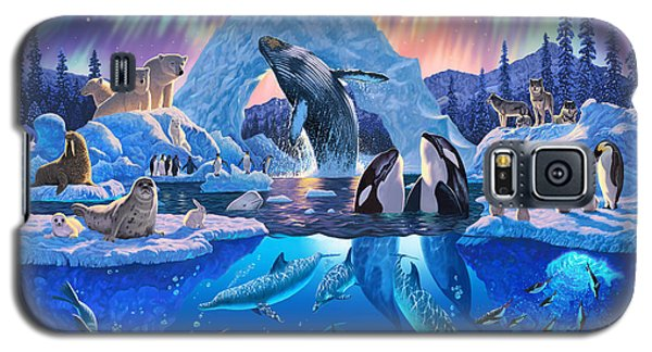 Whale Galaxy S5 Case - Arctic Harmony by Chris Heitt