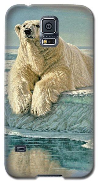 Polar Bear Galaxy S5 Case - Arctic Heir by Paul Krapf