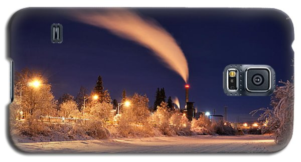 Arctic Power At Night Galaxy S5 Case