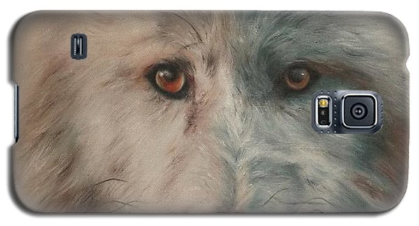 Arctic Wolf Galaxy S5 Case by Cherise Foster