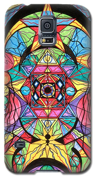 Arcturian Ascension Grid Galaxy S5 Case