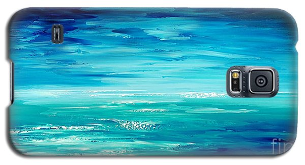 Galaxy S5 Case featuring the painting Are We There Yet? by Tatiana Iliina
