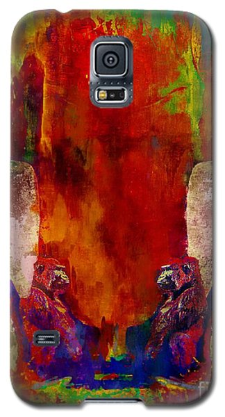 Galaxy S5 Case featuring the photograph Are You Looking At Me by bob galka John  Kolenberg