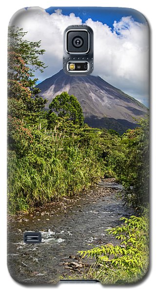Arenal From The Rio Agua Caliente Galaxy S5 Case