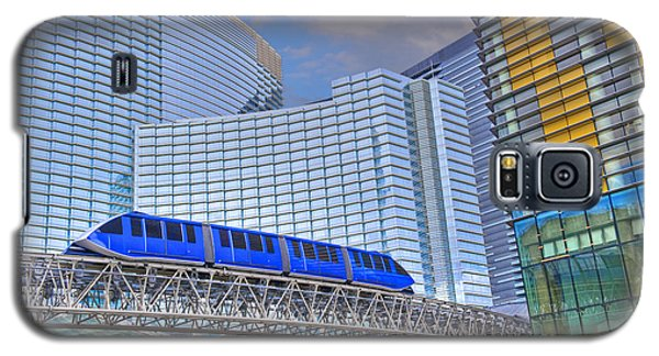 Aria Las Vegas Nevada Hotel And Casino Tram  Galaxy S5 Case