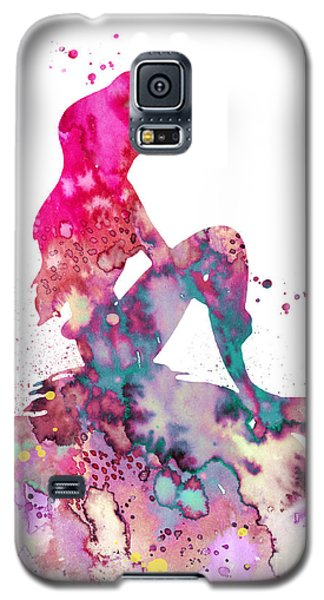 Mermaid Galaxy S5 Case - Ariel 2 by Watercolor Girl