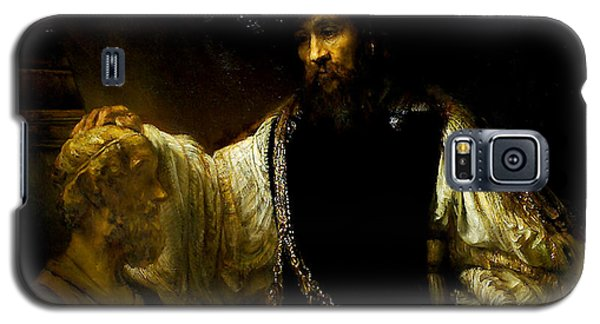 Aristotle Contemplating A Bust Of Homer Galaxy S5 Case