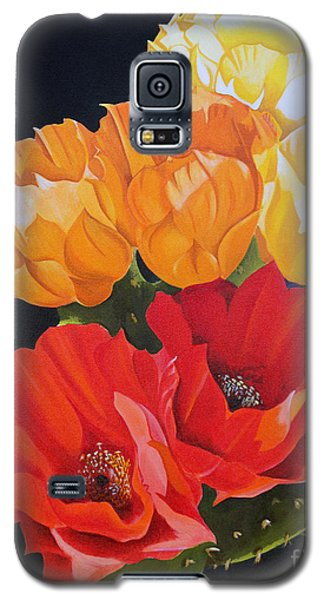 Arizona Blossoms - Prickly Pear Galaxy S5 Case