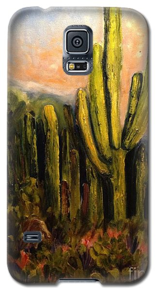Arizona Desert Blooms Galaxy S5 Case