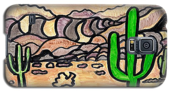 Galaxy S5 Case featuring the drawing Arizona  by Don Koester