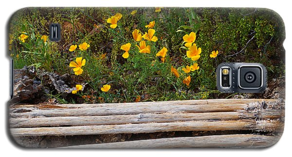 Arizona Poppy Galaxy S5 Case