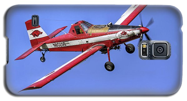 Arkansas Razorbacks Air Tractor Galaxy S5 Case