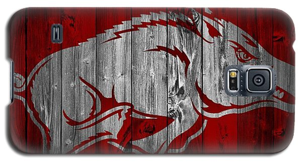 Arkansas Razorbacks Barn Door Galaxy S5 Case