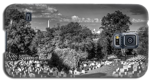Galaxy S5 Case featuring the photograph Arlington Cemetery by Ross Henton