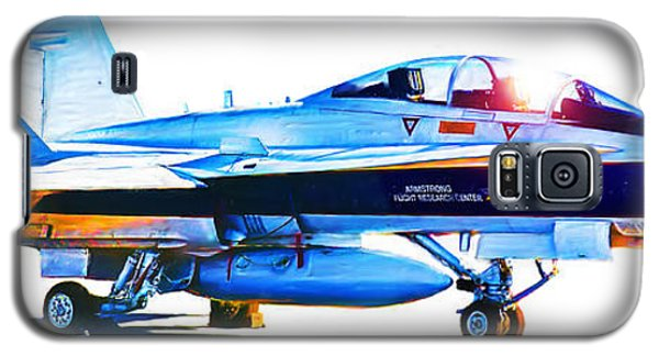 Armstrong Flight Research Center F-18 Hornet Galaxy S5 Case
