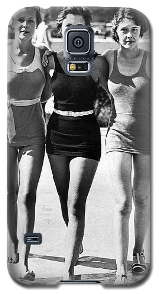Army Bathing Suit Trio Galaxy S5 Case by Underwood Archives