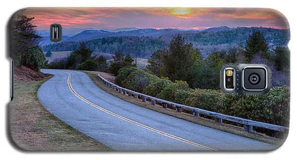 Around The Bend - Blue Ridge Parkway Galaxy S5 Case