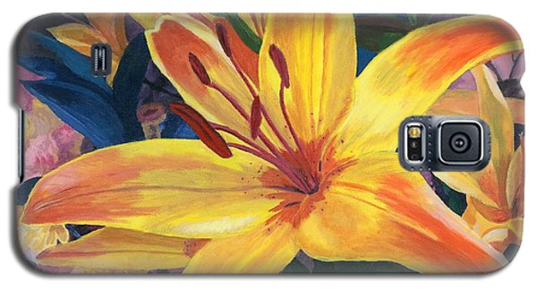 Arranging Lily Galaxy S5 Case by Lynne Reichhart