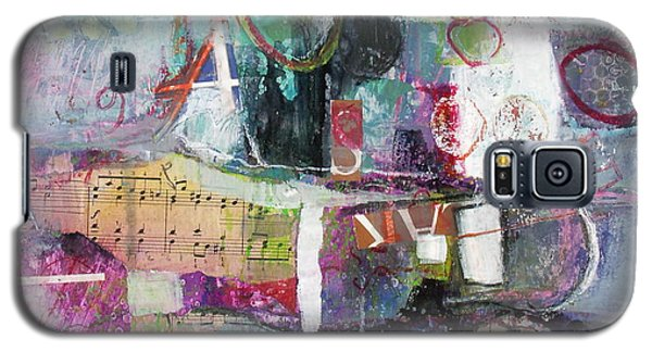 Galaxy S5 Case featuring the painting Art And Music by Michelle Abrams