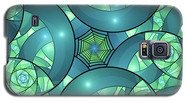 Galaxy S5 Case featuring the digital art Art Deco by Gabiw Art