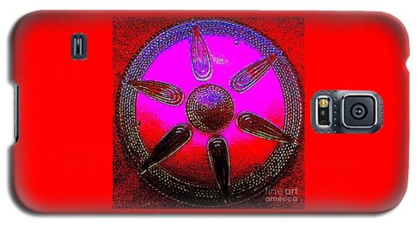 Art Deco Mandala Galaxy S5 Case