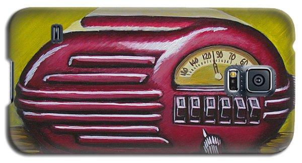 Art Deco Radio Galaxy S5 Case