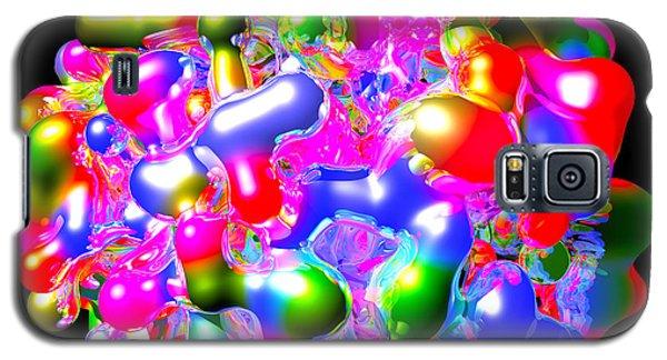Galaxy S5 Case featuring the digital art Art In Coalescence... by Tim Fillingim