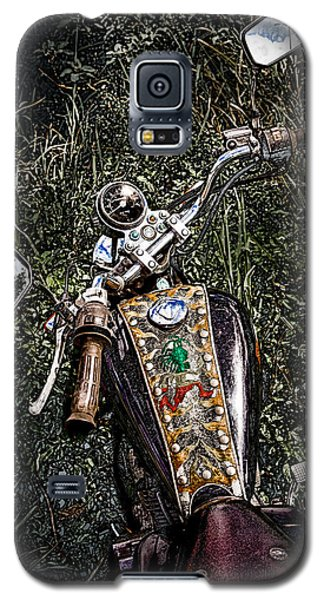 Art In The Weeds Galaxy S5 Case by Melinda Ledsome