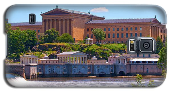 Art Museum And Fairmount Waterworks - Hdr Galaxy S5 Case by Lou Ford