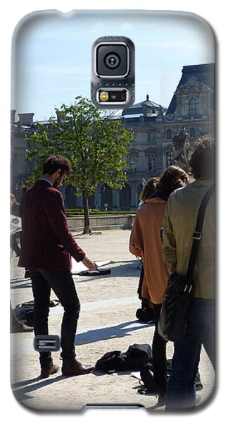 Art Students In The Tuileries Of Paris Galaxy S5 Case