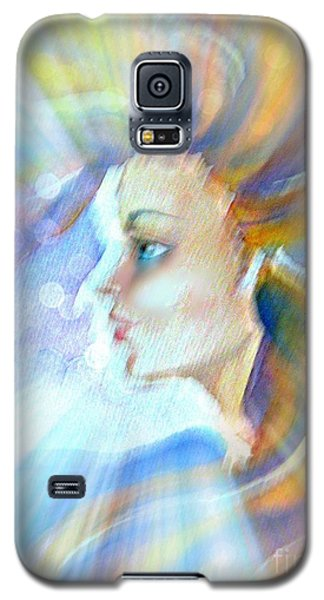 Galaxy S5 Case featuring the painting Artemis by Leanne Seymour