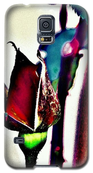 Galaxy S5 Case featuring the photograph Artful Bud by Faith Williams