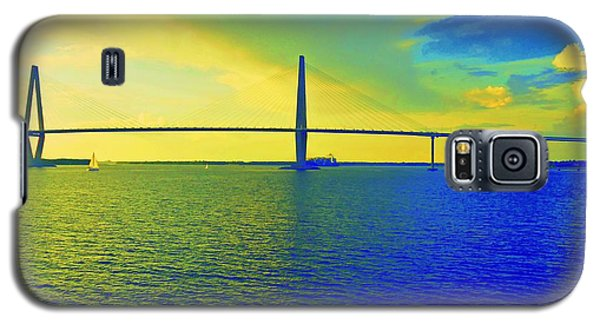Arthur Ravenel Bridge 19 Galaxy S5 Case