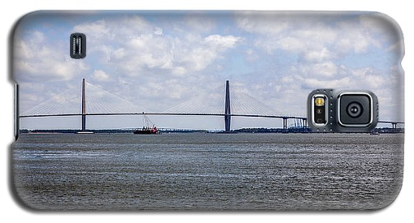 Galaxy S5 Case featuring the photograph Arthur Ravenel Bridge by Sennie Pierson
