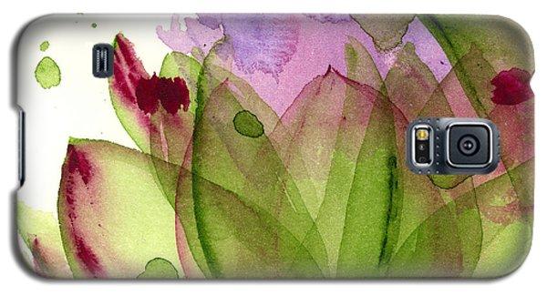 Artichoke Flower Galaxy S5 Case