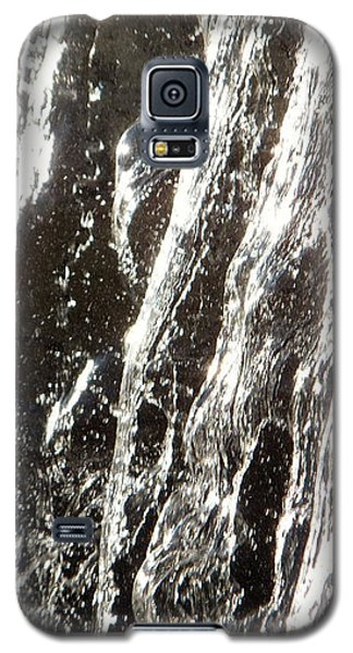 Galaxy S5 Case featuring the photograph Artificial Waterfall by Marc Philippe Joly