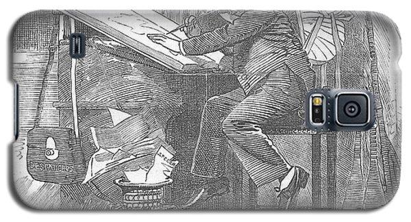 Artist At Work Editorial Art Galaxy S5 Case