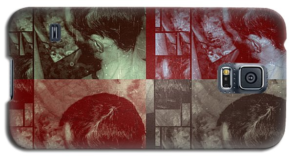 Galaxy S5 Case featuring the photograph Artiste Stevo York Headpainting Part One by Sir Josef - Social Critic - ART