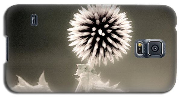 Artistic Black And White Flower Galaxy S5 Case