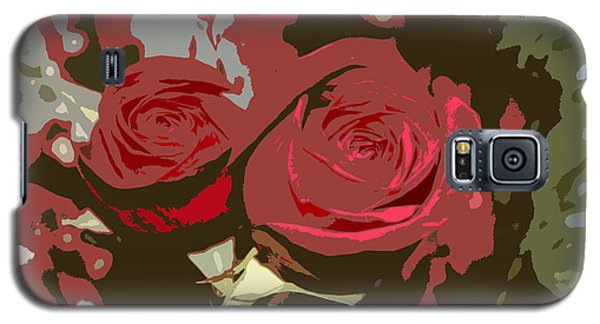 Artistic Roses Galaxy S5 Case