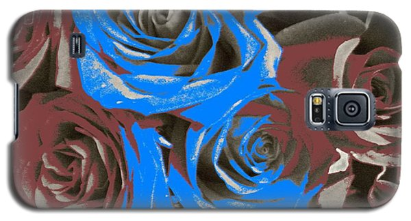 Galaxy S5 Case featuring the photograph Artistic Roses On Your Wall by Joseph Baril