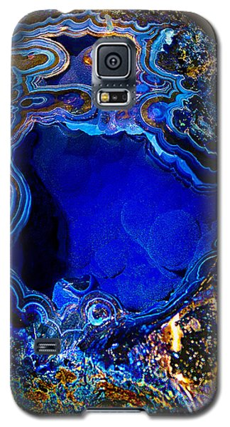 Artists Bisbee Velvet Beauty Azurite Galaxy S5 Case