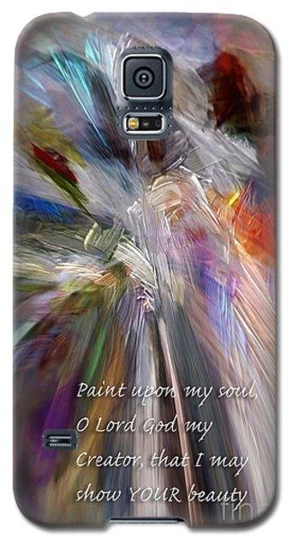 Artist's Prayer Galaxy S5 Case
