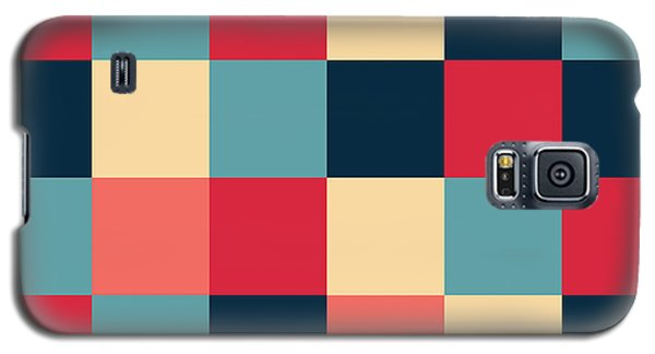 Galaxy S5 Case featuring the digital art Artwork Pattern by Mike Taylor