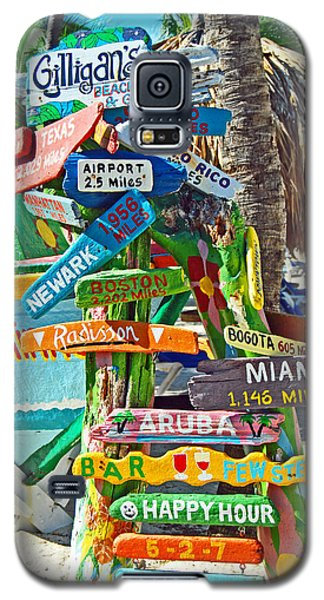 Aruba Fun Signs Galaxy S5 Case