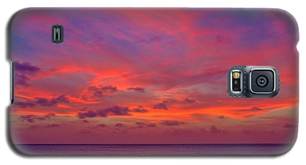 Aruba Sunset Galaxy S5 Case