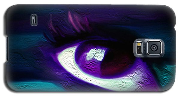 Galaxy S5 Case featuring the painting As Far As The Eye Can See by Persephone Artworks